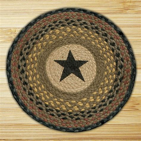 capitol earth rugs braided jute chair pad by capitol earth rugs the patch