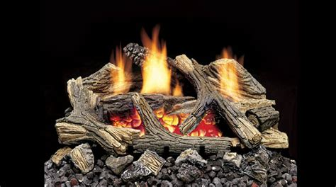 contemporary ceramic logs for natural gas fireplace modern