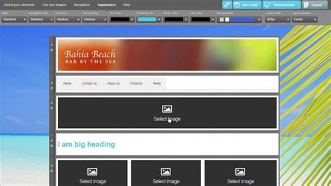 sitefinity template builder template builder