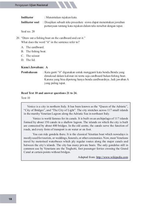 teks prosedur membuat es buah dalam bahasa inggris soal pengayaan un bahasa inggris 2015