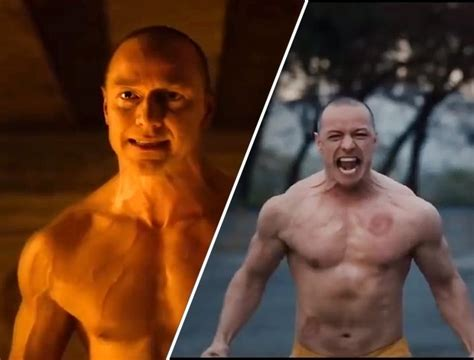 james mcavoy kevin wendell crumb james mcavoy is jacked in the new trailer for glass men