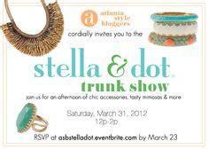 stella and dot invitation templates trunk show ideas on stella dot jewelry