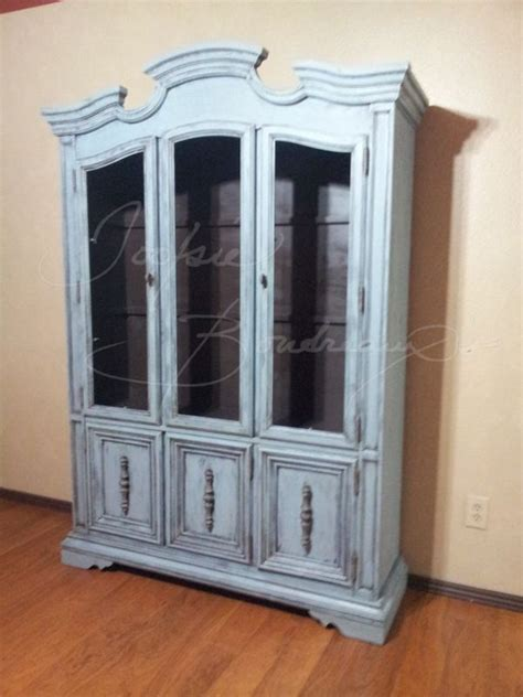 red chalk painted china cabinet no 19 vintage stanley china cabinet chalk paint swedish