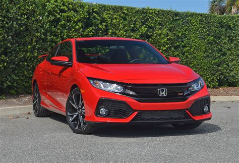 Honda Civic Si Review by 2017 Honda Civic Si Coupe Review Test Drive