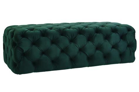 Green Velvet Ottoman Tov Furniture Jumbo Green Velvet Ottoman O66 At Homelement