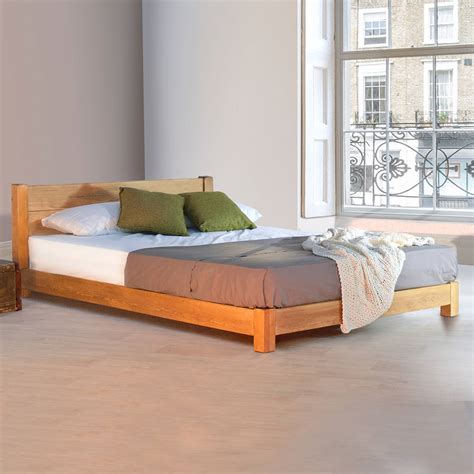 Low Bed Frames Low Space Saver Wooden Bed Frame By Get Laid Beds Notonthehighstreet