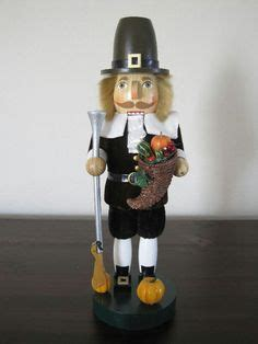 pilgrim nutcracker 15 quot time to give thanks festive wooden thanksgiving