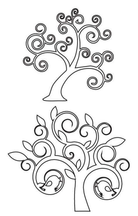 plantillapara decorar arbol 6 modelos de 225 rboles para calar 193 rbol de la vida