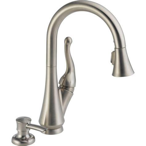 delta single handle kitchen faucets delta talbott single handle kitchen faucet