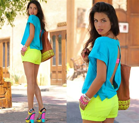 neon color trend how to wear neon colors fashionisers