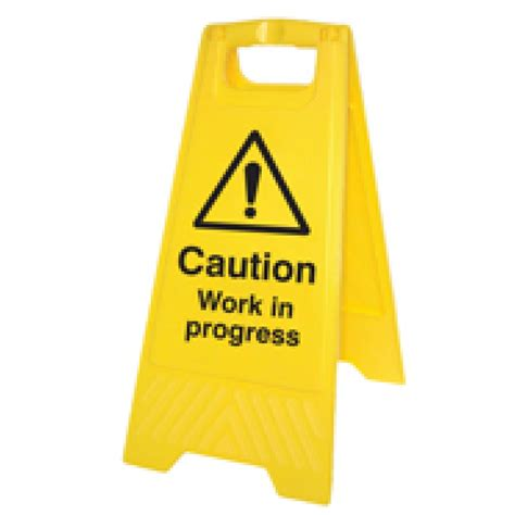 free standing warning sign nairobi safety shop limited