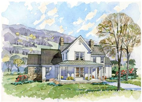 classic farmhouse plans new south classics the homesteader