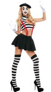 hush mime women s costume fancy dress mime costume