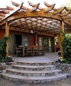 Curved Pergola Designs by Curved Roof Pergola For The Home Pinterest