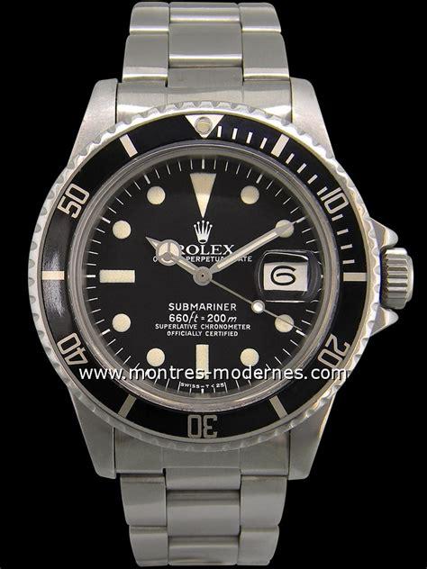 photos des montres rolex submariner vintage