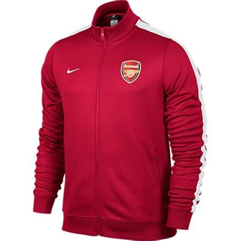 arsenal jacket nike arsenal fc 2013 authentic n98 training soccer jacket
