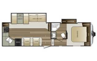 floor plans with rear kitchen 5th wheel trend home