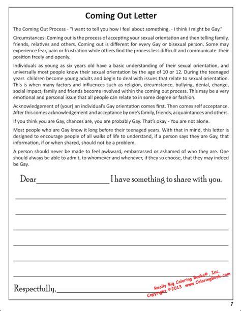 Transgender Coming Out Letter