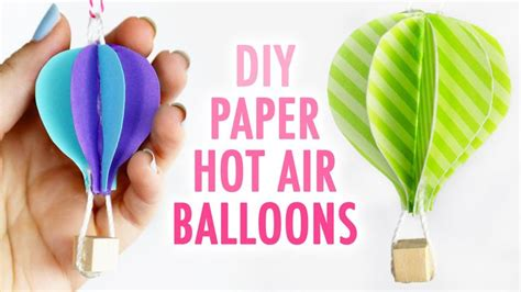 How To Make Paper Air Balloons - 17 best images about bible crafts on for