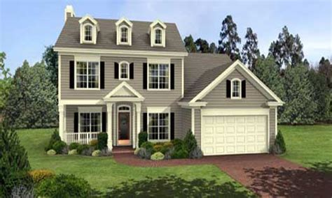 story home colonial 3 story house plans 2 story colonial style house