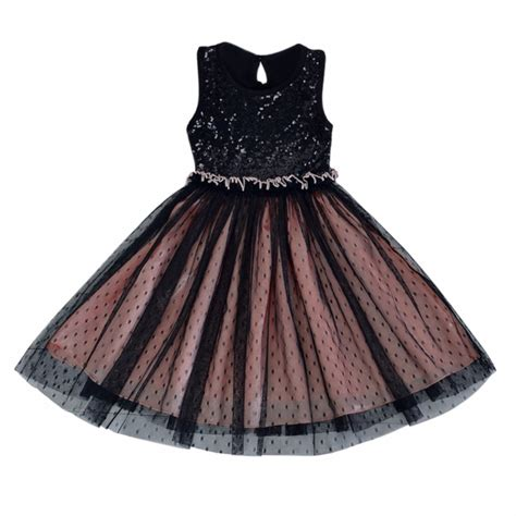 Dress Kid Bungashan 3 unique kid tulle fancy tutu dress toddlers baby sequins dress clothes in