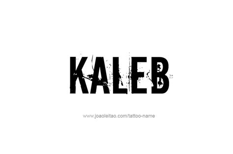 kaleb name tattoo designs tattoos with names