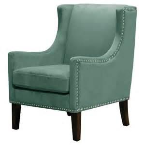 jackson wingback chair velvet teal threshold target