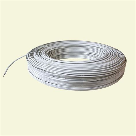 white electrical wire white lightning 1320 ft 12 5 white safety coated