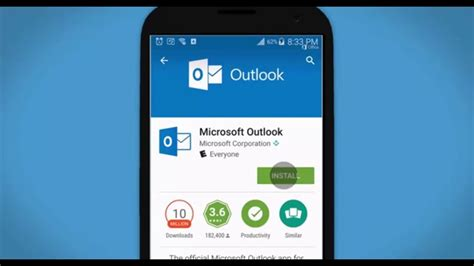 microsoft office 365 for android how to set up outlook 2016 from office 365 on an android device