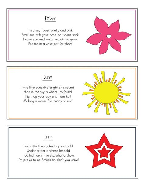 color songs for preschoolers song a month scribd poems rhymes transition songs
