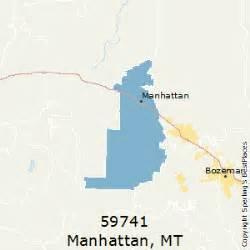 manhattan zip code map