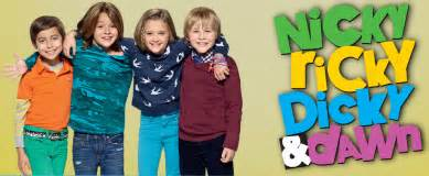 Nrdd nicky ricky dicky and dawn harper harpers with logo nickelodeon