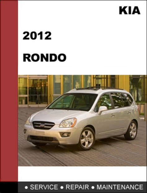 service manual manual repair engine for a 2007 kia rondo