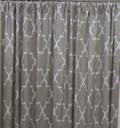 ikat draperies ikat linen color and white two lined drapery by
