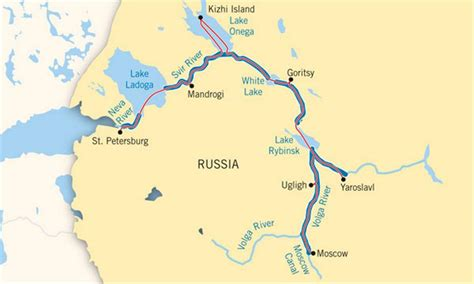 map of russia with cities and rivers dnieper river map