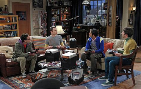 the big bang theory apartment culture space