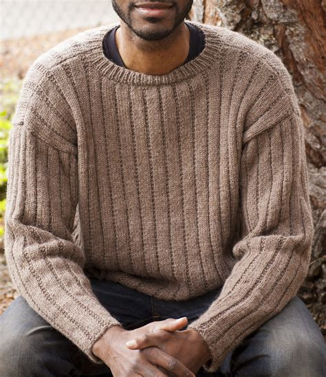 mens sweater knitting pattern s sweater knitting patterns in the loop knitting