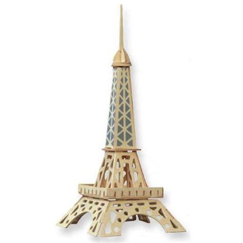 Puzzle Eiffel Tower eiffel tower 3d jigsaw woodcraft kit wooden puzzle