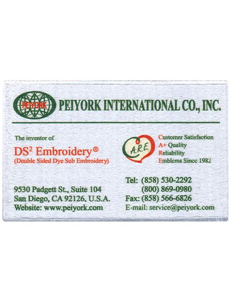 Phone Number On Business Card