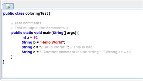 pattern dotall java java regex to detect comments strings without conflict