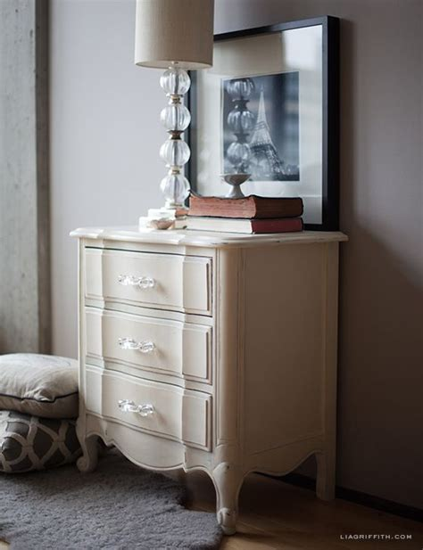 chalk paint uses bed side table with white chalk paint 174 decorative