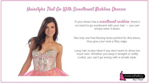 hairstyles to suit no neck choosing hairstyle based on your dress neckline