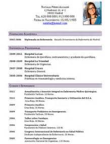 elaboracion de un curriculum vitae elaboraci 243 n del curriculum de m 233 dicos o enfermeras
