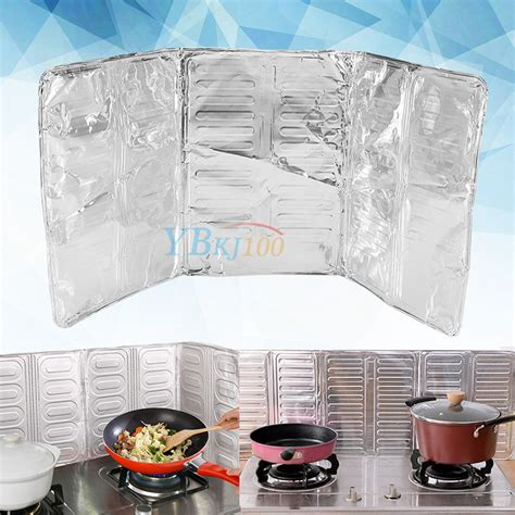 stove splash guard gas stove cooking frying removal scalded screen kitchen
