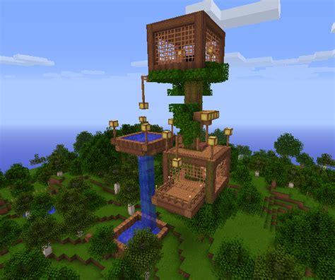 Minecraft Tree House by Zorinvladimir56 Minecraft Awesome Tree House