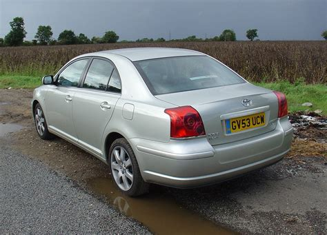 How Much Is Toyota Avensis Toyota Avensis Saloon 2003 2008 Photos Parkers