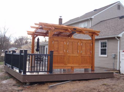 composite deck construction composite deck building composite deck railing
