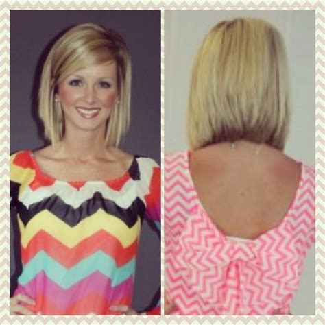 long stacked bob long bob stacked possibly my next hair cut super cute