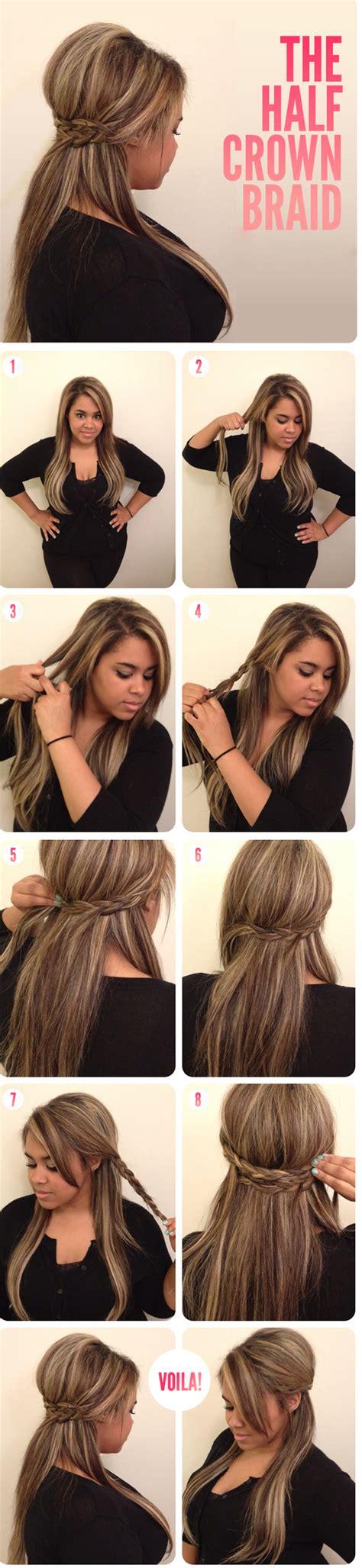 15 Easy and Pretty Braid Tutorials   Pretty Designs