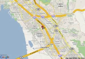 map of hayward california mainstay suites hayward hayward deals see hotel photos